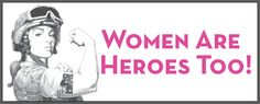 Women are heroes too AU$6