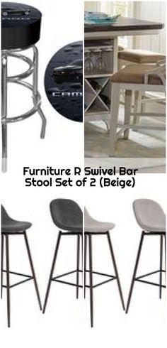Furniture R Swivel Bar Stool Set of 2 (Beige) , Furniture R Swivel Bar Stool Set of 2 (Beige). Counter Bar Stools, Swivel Bar Stools, Christopher Knight, Beige, Bar Set, Modern, 1950s, Furniture, Stylish