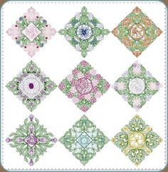 CinDes Embroidery Designs-CinDes Free Embroidery Designs Quilt Blocks