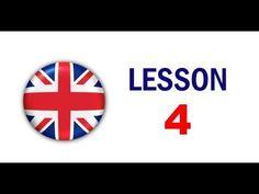 Kurz angličtiny pro samouky: Lekce 4 - YouTube