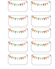 More carnival party ideas and printable freebies