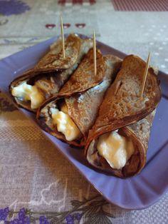 I necci toscani sono delle crepes dolci di farina di castagne, buone, leggere, ma soprattutto gluten free e vegane.