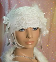 1920s Vintage Inspired  wedding Cloche Hat  Great by aileens4hats, £25.00