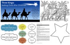 Three Kings: Seeking Christ After Christmas (a family study to help continue to focus on the gift of Christ AFTER Christmas)