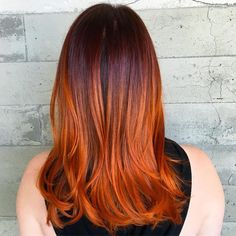 pumpkin spice hair. copper colormelt. @shurie