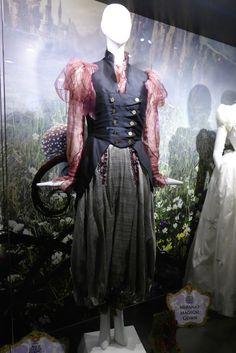 Mia Wasikowska Alice Through the Looking Glass Ribbon Fantasy costume