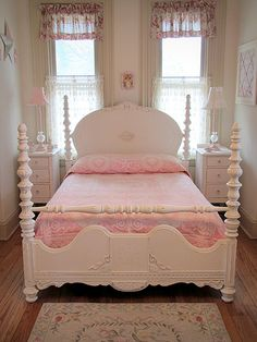great bed  {bedroom}