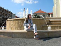 Kossuth tér, szökőkút