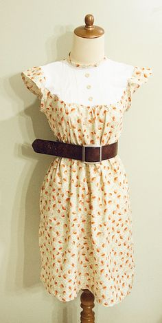 Crunch Crunch Dress Pattern