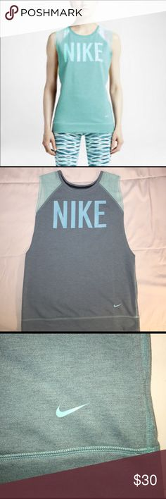 Nike Sleeveless Graphic Training Top Nike Dri-Fit Women's Graphic Fleece Training Sweatshirt Excellent Condition, New without tags.  🛍🛍🛍Bundle and Save🛍🛍🛍😘. Nike Tops Sweatshirts & Hoodies