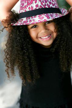 ♥ natural hair kids