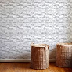 Circle Stripe Wallpaper in Taupe – Rebecca Atwood Designs Grey Wallpaper Accent Wall, Grey Removable Wallpaper, Daisy Wallpaper, Bathroom Accent Wall, Artistic Wallpaper, Striped Wallpaper, Wallpaper Panels, Peel And Stick Wallpaper, Laundry Room Wallpaper