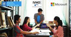 """Recuerda que para tu escuela solo los Partners AER de Microsoft pueden venderte productos como Office y Windows Originales.  ¡En IVHO estamos certificados como Partners AER de Microsoft!  AER """"Authorized Education Reseller"""""""