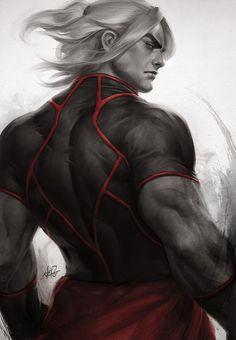 Street Fighter - Ken by Artgerm | Stanley Lau *