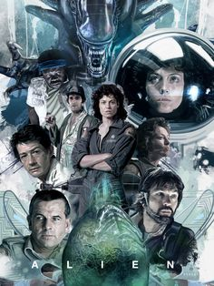 ALIEN The eight passenger – fan art by David Benzal Alien 1979, Alien Film, Alien Art, Alien Vs Predator, Man In Black, Eight Passengers, Giger Alien, Alien Concept Art, David Fincher