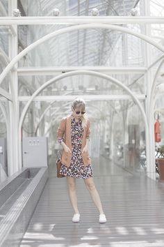 Vestido Vintage | Look Julia Alcântara - Tudo Orna | Maior blog de Moda de Curitiba