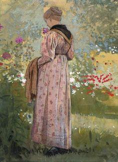 Winslow Homer  In a Garden  1874
