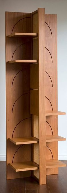 """The best DIY projects & DIY ideas and tutorials: sewing, paper craft, DIY. Best DIY Furniture & Shelf Ideas 2017 / 2018 """"Bedouin is an elegantly designed bookshelf that can be transformed into a compact, easy-to-transport piece"""