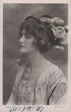 vintage everyday: A Collection of 70 Beautiful Vintage Portrait Photos of Lily Elsie from the through the Vintage Pictures, Old Pictures, Vintage Images, Lilie Elsie, Vintage Photography Women, Beauty Photography, Gibson Girl, Victorian Women, Edwardian Fashion