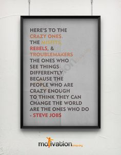 Hey, I found this really awesome Etsy listing at https://www.etsy.com/listing/201915803/steve-jobs-quote-print-3-colors