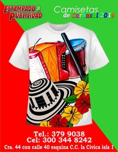 camisetas de carnaval barranquilla sombrero guacharca y caja Painted Hats, Hand Painted, Pop Art Wallpaper, Dress Painting, Carnival Festival, Mens Tops, T Shirt, Fashion, Costumes