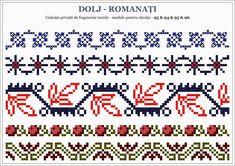 Romanian traditional motifs - OLTENIA; Dolj-Romanati