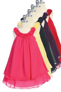 Daisy Girls Party Dress - PuddlesCollection.com