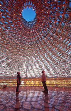 KEW GARDENS  'My friend and artist Wolfgang Buttress's The Hive is moving into Kew Gardens in June after being the centrepiece at the 2015 Milan Expo. It's a must-see at 17 metres high and is inspired by scientific research into the health of bees.'