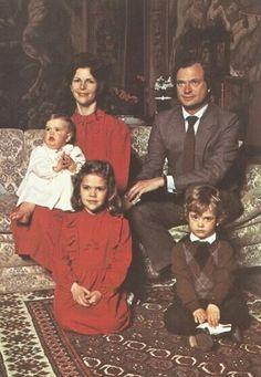 Les Bernadotte, années 80