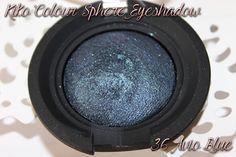 Kiko Colour Sphere Eyeshadow 36 Avio Blue http://www.talasia.de/2015/06/12/beauty-tauschpckchen-mit-bianca/