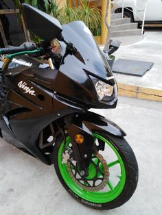 Custom Motorcycle Decal Kits Modified Kawasaki Ninja 250r Custom