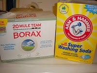 Home-made laundry detergent. I was skeptical until I heard how cheap and awesome it is.