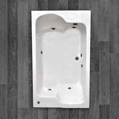BANHEIRA TOPÁZIO DUPLA ACOMODAÇÃO COM HIDRO 1,83 X 1,10 X 0,55 Com um belo design que oferece conforto e bem estar, a Banheira Topázio é fabricada com produtos de alta qualidade e acompanha os seguintes acessórios:     6 Jatos cromados 1 Entrada de água 1 Saída de água 1 Entrada de ar (arejador) 1 Sucção 1 Motor bomba 1/3 cv Tubulação de água dos bicos de hidromassagem Tubulação de ar dos bicos de hidromassagem!