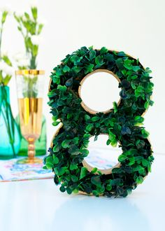 New wedding party decorations diy table numbers 41 Ideas Garden Wedding Decorations, Diy Garden Decor, Table Decorations, Wedding Ceremony Seating, Reception, Faux Grass, Wedding Table Numbers, Diy Table, Just In Case