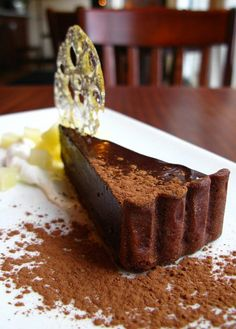 scotch and chocolate tart