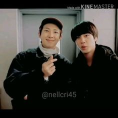 Jungkook Abs, Bts Jin, Bts Bangtan Boy, Namjin, Best Friend Couples, Best Friend Gifs, Bts Meme Faces, Bts Memes, Bts Pictures