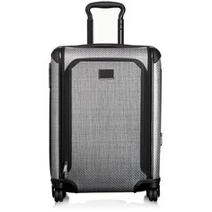 Tumi Tegra-Lite Max Continental Expandable Carry-On ($745) ❤ liked on Polyvore featuring bags and luggage