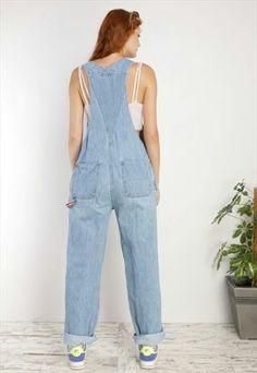 Denim Overalls, Dungarees, Polo Ralph Lauren, Asos, Vintage, Women, Fashion, Moda, Fashion Styles
