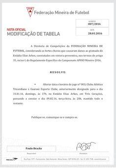 Folha do Sul - Blog do Paulão no ar desde 15/4/2012: FEDERAÇÃO MINEIRA DE FUTEBOL REPROVA GRAMADO E ADI...