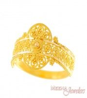 And Above Rings Ladies Gold Ring 22kt Gold Indian Ring