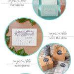 5 imprimibles para numerar las mesas de tu boda   Love Chocolate and Weddings