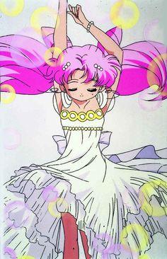 Princess Chibi-Usa (Rini) - Sailor Moon; Original art from the anime