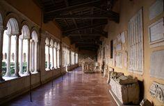 Rom, Basilica di San Paolo fuori le Mura, Kreuzgang (cloister) | da HEN-Magonza
