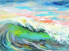 Sea Dean - Paint a Masterpiece: LUMINOUS WAVE - DUO SERIES