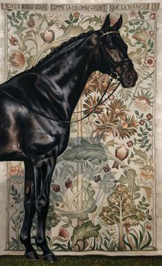 """""""Le Coeur du Cheval (The Heart of the Horse)."""" says it is a photo, if it is, it has been enhanced somewhat, maybe two images combined not a large enough file to be sure, but impressive non the less. Horse Photos, Horse Pictures, Horse Portrait, Oil Portrait, Pencil Portrait, Animal Paintings, Horse Paintings, Pastel Paintings, Horse Artwork"""