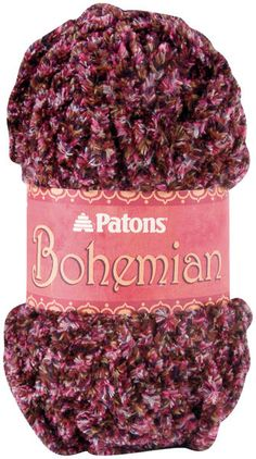 PATONS-Bohemian is an intriguingly soft textured yarn with a cool subtle handle that you just can't stop touching.