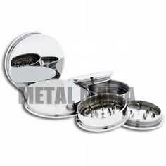 Metal Mafia SS STEEL HERBAL GRINDER AND STASH PLUG @ http://www.tribalectic.com/store/pc/viewPrd.asp?idproduct=25956&idcategory=510&piercingLocationID=&mt=&gauge=&IDBrand=