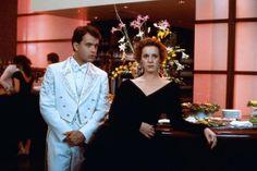 That tuxedo! ~ Big (1988) - Tom Hanks, Elizabeth Perkins #big1988 #tomhanks #elizabethperkins #80smovies #1988