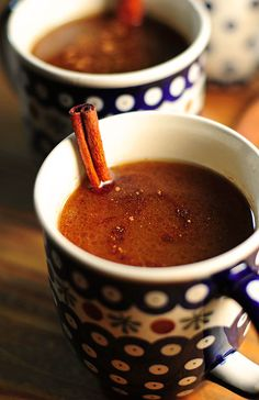 Hot Buttered Rum - I love Christmas with a hot buttered rum!