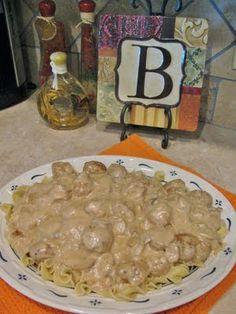 "Scrappin' Becky B.: Recipe of the Week...""Crockpot Swedish Meatballs"""